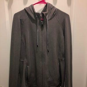 Grey Lululemon ZipUp Jacket